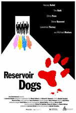 RESERVOIR DOGS Movie POSTER PRINT 27x40 Harvey Keitel Tim Roth Michael Madsen