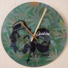 Cheech & Chong wall clock