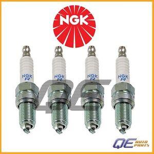Set of 4 Spark Plugs NGK Laser Platinum DCPR8E #4339