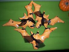 PATTERN~PRIMITIVE HALLOWEEN BOO BATS BOWL FILLER
