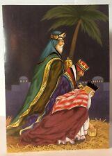 Set of 8 Cards & 8 Envelopes Three Kings Jerusalem Joyous Christmas Greeting