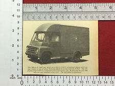 Morris LDO.2 mail van press cutting  Longwell Green Coachworks Bristol LDO2