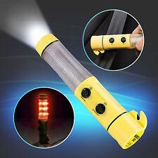 Hama LED Notfall Leuchte KFZ Emergency Gurtschneider Taschenlampe Stableuchte