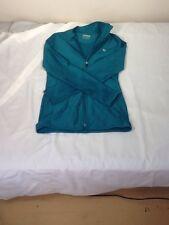 St545 Layer 8 Women's Teal Green Zip-Up Fleece Jacket Small Quick Dry