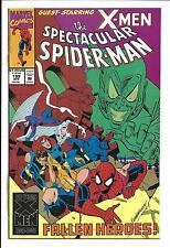 SPECTACULAR SPIDER-MAN # 199 (X-MEN APP. APR 1993), NM