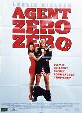 """AGENT ZERO ZERO (SPY HARD)"" Affiche originale (Leslie NIELSEN)"