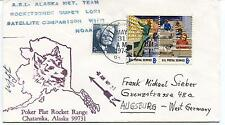 1974 Poker Flat Rocket Range Chatanika Alaska Satellite NOAA Polar Cover SIGNED
