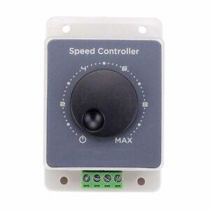 12V 24V 36V 48V 20A DC Motor Speed Controller Regulator Switch Waterproof GL