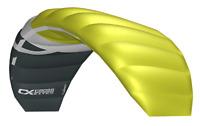 Cross Kites Boarder 2.1m - GREEN. Inc' 2 line control bar.