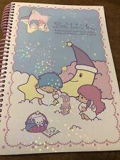 SANRIO LITTLE TWIN STARS KIKI LALA SPIRAL NOTEBOOK 2005 W STICKERS