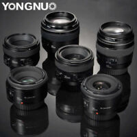 YONGNUO YN 35mm 40mm 50mm 85mm 100mm Auto Focus Prime Lens Fr Nikon Canon Camera