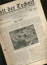 "UFA Studio Neu- Babelsberg KINO Reportage ""Ruhe- Tonfilm !"" 1933 Nadeltonverfahr"