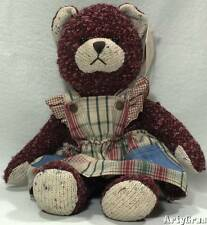 """Russ Berrie Bears from the Past HARRIET Handcrafted Teddy Bear TAGS 13"""" Tall"""