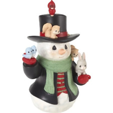 2018 9th Annual Snowman Series Figurine - Christmas Cheer For All - CLEARANCE