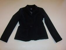 Women's Gap Black Unlined Blazer Jacket 2