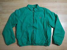 Polo Ralph Lauren Mens Jacket 44 Fleece Lined Coat Missing Detachable Hood Green