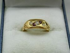 18 Carat Ruby Yellow Gold Victorian Fine Jewellery