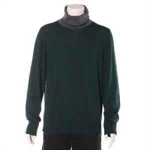Louis Vuitton RM082 Cotton x Wool Turtleneck Knit XL Men's Guri