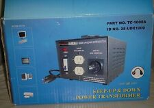 Calrad Tc-1000A Step-Up & Step-Down Power Transformer 1000 Watts
