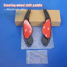 2PCS Steering Wheel Shift Paddle Shifters Extension Aluminum For Jaguar XK XF
