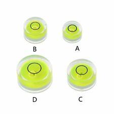 5pcs Mini Round Bubble Level Spirit Level Bullseye Level Measurement Instrument
