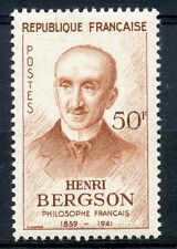 STAMP / TIMBRE FRANCE NEUF N° 1225 ** CELEBRITE / PHILOSOPHE HENRI BERGSON
