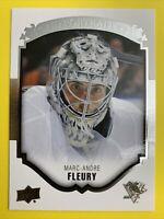 2015-16 Upper Deck UD Portraits #P-27 Marc Andre Fleury Pittsburgh Penguins