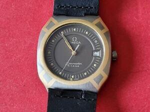 Herren Armbanduhr Omega Seamaster Titan mit 750´er Echt Gold Einlagen !!!