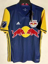 Adidas MLS Jersey New York Red Bulls Team Blue sz XL
