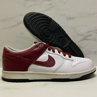 2007 Nike Dunk Low CL White / Team Red / Black VTG SB Size 14 - 318020 161