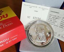 1 x Frankreich 1 1/2 (1,50) Euro Ag Münze 70 Jahre Spirou 2008 PP