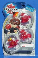 Bakugan Dragonoid Red Pyrus Translucent Evolution Dan Limited Edition 3 Pack