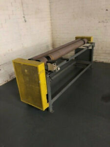 """Material Roll Up Machine 84"""" Mfg. Unknown Used"""