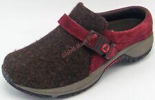 Mule Shoes Suede Leather Wool Ortholite Foam Buckle Women's 6.5 Merrill