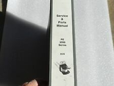 Crown Electric Pallet Jack PE 3000 Service And Parts Manual 6535