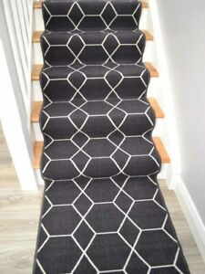 Long Dark Grey Stair Rugs Not Wide Charcoal Rug Carpet Runner Ideal For Stairs