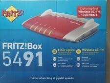 AVM FRITZ!Box 5491 Router 1300Mbps 5GHz Glasfaser G-PON 20002837 *NEUHEIT* Mesh