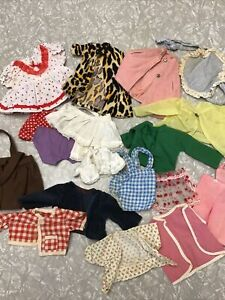 Vintage Lot Of Doll Clothes Outfits Dresses Ideal Vogue Effanbee