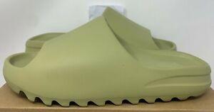 ADIDAS KANYE WEST YEEZY SLIDE SANDAL RESIN GREEN GZ5551 10 foam runner boost 350