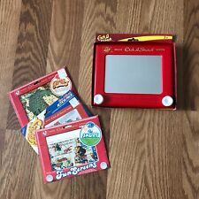 Etch A Sketch Magic Screen w/ Smurf Games & Puzzle Fun Screens Included Kids Art