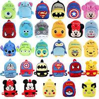 Kids Baby Boys Girls Mini Schoolbag Backpack Cartoon Animal Pulsh Shoulder Bags