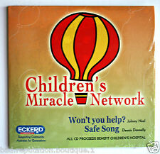 Eckerd Children's Miracle Network CD - Won't You Help, Safe Song - 2005 RARE