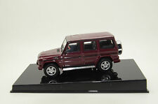 RARE !!! Mercedes G Wagon LWB 80-90`s Auto Art 56113 Met. Red 1/43
