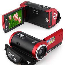 Digital Video Camcorder HD 16MP Camera DV DVR 2.7'' TFT LCD 16x ZOOM 720P Gift