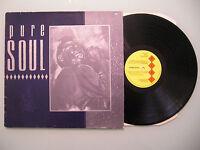 Various - Pure Soul, UK 1984, LP, Kent, Vinyl: vg