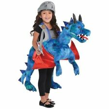 Childs Ride On Dragon 3+ Years Fancy Dress World Book Day Boys Mythical Costume