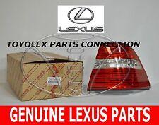 GENUINE LEXUS LS430 04-06 OEM  NEW LEXUS OUTER RH REAR TAIL LIGHT 81551-50140