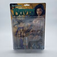 Ravyn Action Figure From Ravening 1998 Rendition Vintage Rare Girl With Weapons