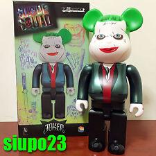 Medicom 400% Bearbrick ~ DC Comics Joker Be@rbrick Suicide Squad Version