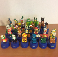 Super Mario Bros. Pepsi Dots Bottle Cap Figure 30 Complete Set Nintendo Japan